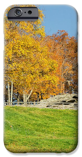 American Autumn Square iPhone Case by Bill  Wakeley