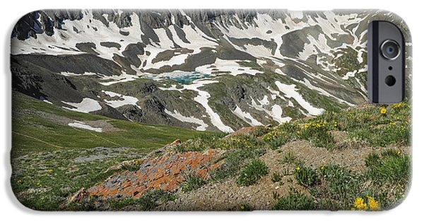 Basin iPhone Cases - American Basin iPhone Case by Aaron Spong