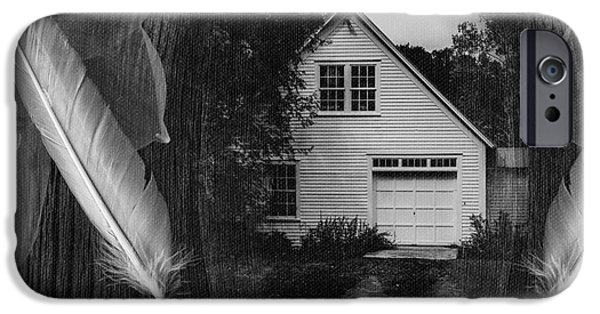 House Art Photographs iPhone Cases - American Dream II iPhone Case by Edward Fielding