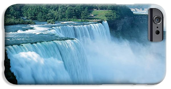 Niagara Falls iPhone Cases - American Falls Niagara Falls Ny Usa iPhone Case by Panoramic Images