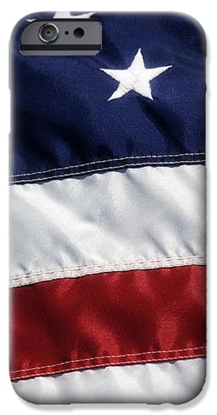 American Flag iPhone Case by Jill Lang