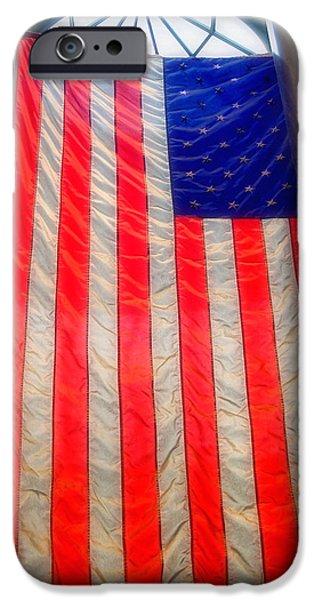 American Flag iPhone Case by Joann Vitali
