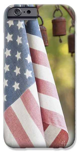 Honor iPhone Cases - Faded Glory iPhone Case by Juli Scalzi