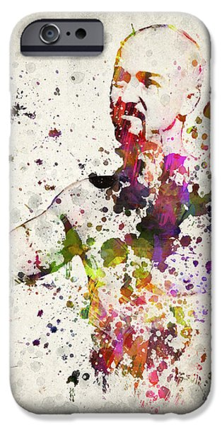 Celebrities Mixed Media iPhone Cases - American History X iPhone Case by Aged Pixel