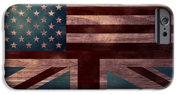 American Revolution Digital Art iPhone Cases - American Jack I iPhone Case by April Moen