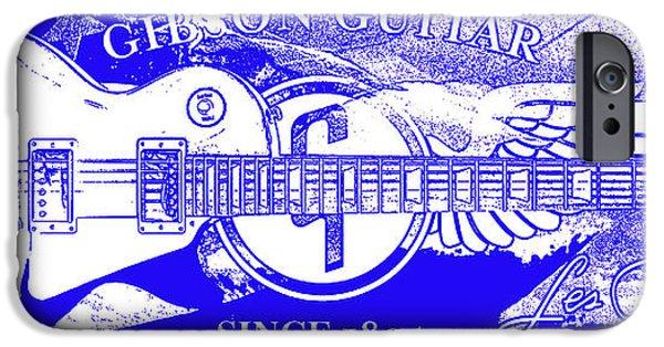 American Flag iPhone Cases - American Legend Blue iPhone Case by Jon Neidert