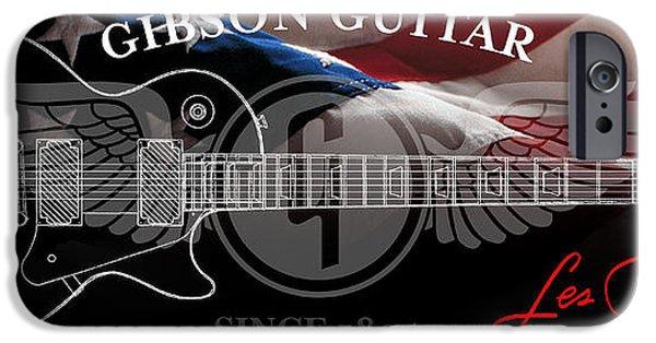 American Flag iPhone Cases - American Legend iPhone Case by Jon Neidert