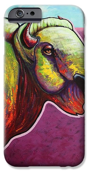 Large iPhone Cases - American Monarch iPhone Case by Joe  Triano