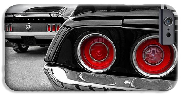 Automotive iPhone Cases - American Muscle iPhone Case by Gill Billington