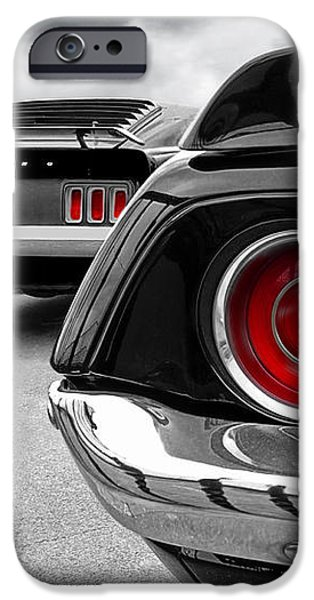 American Muscle iPhone Case by Gill Billington