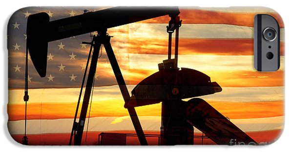 Industrial iPhone Cases - American Oil  iPhone Case by James BO  Insogna