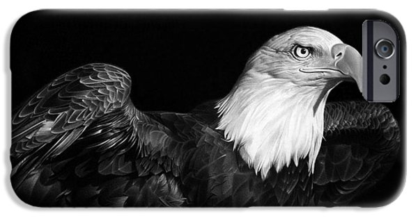 Birds iPhone Cases - American Pride iPhone Case by Miro Gradinscak