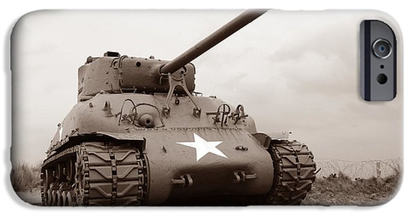 Best Sellers -  - Historic Site iPhone Cases - American Tank iPhone Case by Olivier Le Queinec