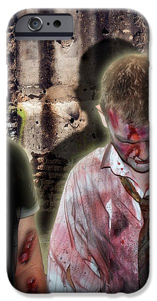 American Zombies iPhone Case by Gary Keesler