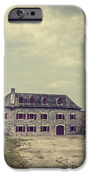 Parade iPhone Cases - Fort Ticonderoga iPhone Case by Edward Fielding