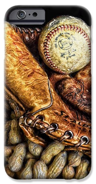 America's Pastime iPhone Case by Ken Smith