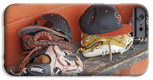 Sports Pyrography iPhone Cases - Americas Pastime  iPhone Case by Shoal Hollingsworth