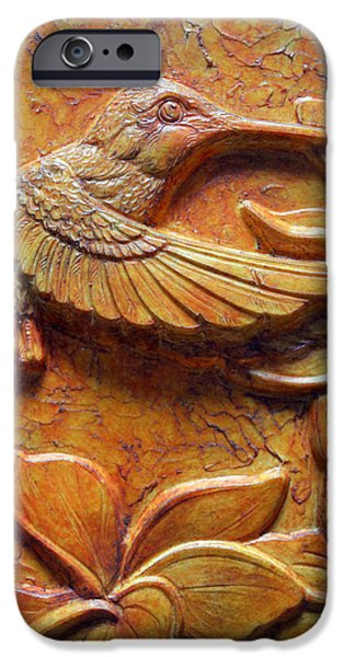 Amid the Plumeria iPhone Case by Jeremiah Welsh