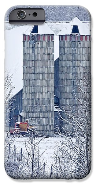 Amish Barn iPhone Case by Jack Zievis