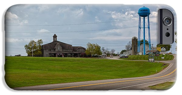 Amish Community iPhone Cases - Amish Country Attractions iPhone Case by John Bailey