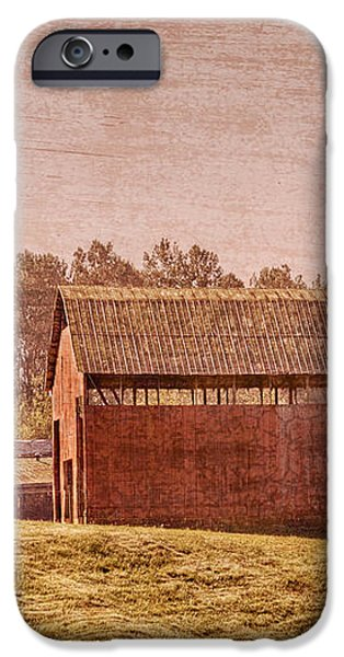 Amish Farm iPhone Case by Debra and Dave Vanderlaan