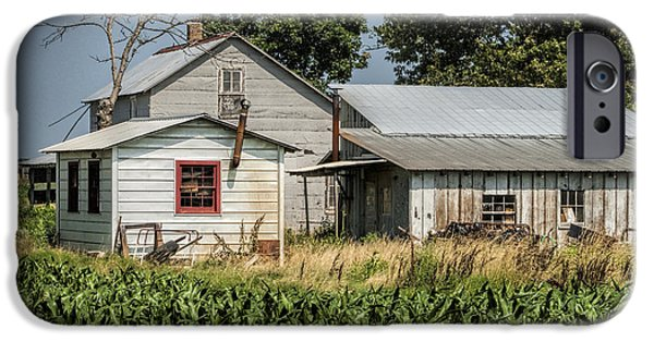 Amish Community Photographs iPhone Cases - Amish Farm in Tennessee iPhone Case by Kathy Clark