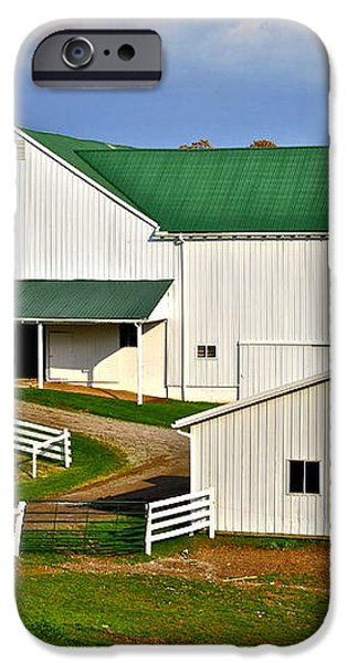 Amish Living iPhone Case by Frozen in Time Fine Art Photography