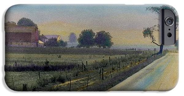 Amish Photographs iPhone Cases - Amish Way iPhone Case by Cindy McIntyre
