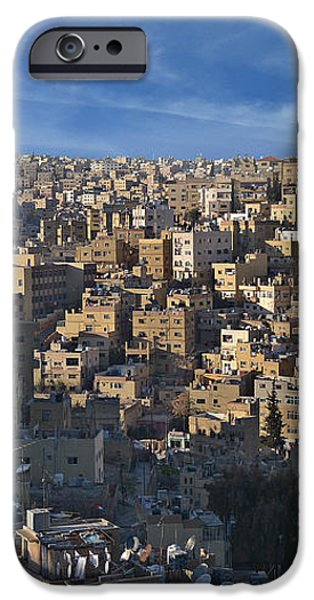 Amman Down town iPhone Case by Luca Battistella