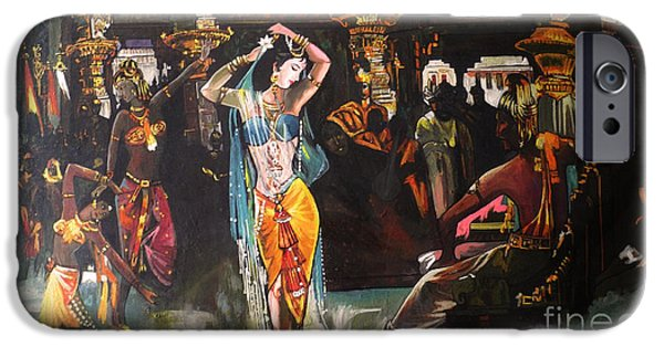 Fabulous Gifts iPhone Cases - Amrapali iPhone Case by Artist Nandika  Dutt