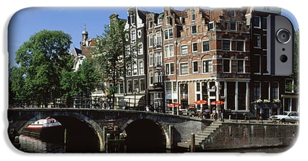 Historical Buildings iPhone Cases - Amsterdam, Holland, Netherlands iPhone Case by Panoramic Images