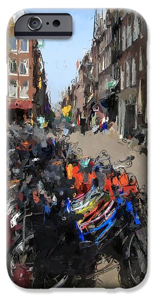Nederland iPhone Cases - Amsterdam iPhone Case by Stefan Kuhn
