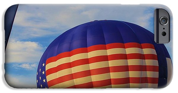 Hot Air Balloon iPhone Cases - An American Tradition iPhone Case by Dan Sproul