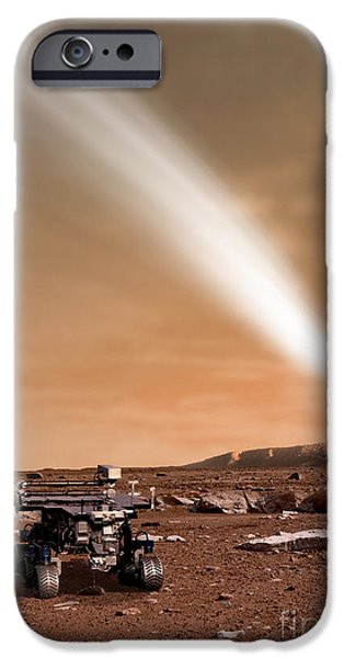 An Artists Depiction Of The Close Pass iPhone Case by Marc Ward