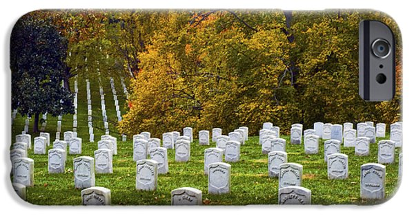 Impressions Of Light iPhone Cases - An Autumn Day in Arlington iPhone Case by Paul W Faust -  Impressions of Light