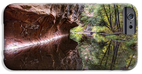West Fork Photographs iPhone Cases - An Autumn Day in West Fork  iPhone Case by Saija  Lehtonen