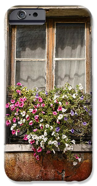 An Old French Window iPhone Case by Olivier Le Queinec