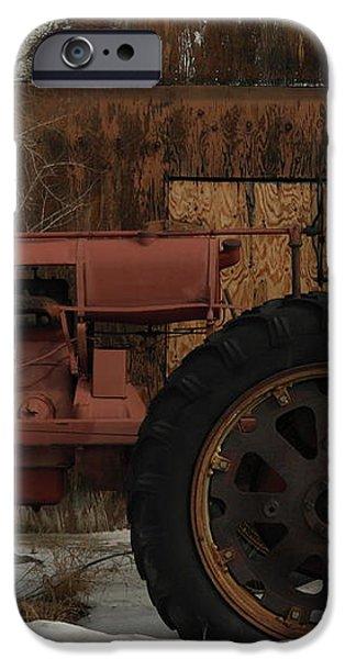 AN OLD JOHN DEER iPhone Case by Jeff  Swan