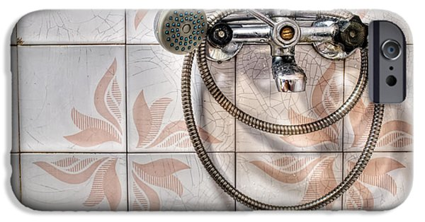 Shower Head iPhone Cases - An old shower iPhone Case by Sinisa Botas