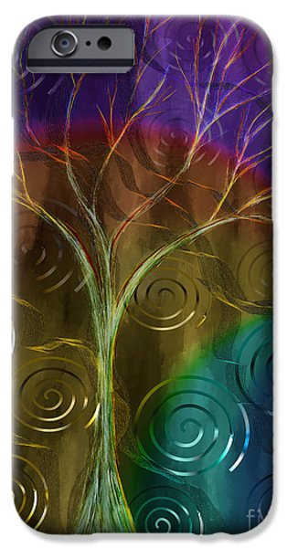 Concept Paintings iPhone Cases - An Ordinary Miracle iPhone Case by Sydne Archambault