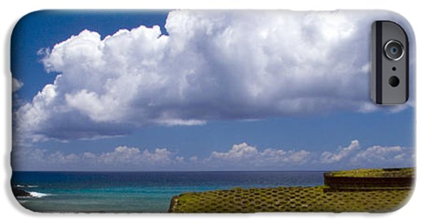 Historic Site iPhone Cases - Anakena Beach with Ahu Nau Nau moai statues on Easter Island iPhone Case by David Smith