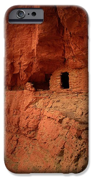 Anasazi Granaries iPhone Case by Inge Johnsson