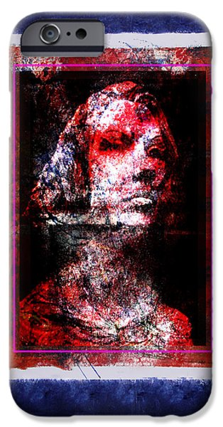 Turn Of The Century Mixed Media iPhone Cases - Ancestor iPhone Case by Richard Arfsten