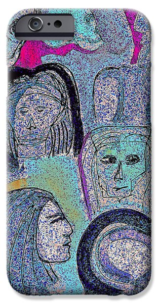 Ancestral Cave iPhone Case by First Star Art