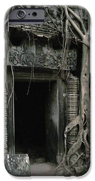 Ancient Angkor iPhone Case by Shaun Higson