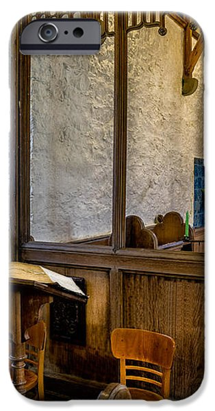 Ancient Chapel 2 iPhone Case by Adrian Evans
