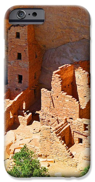 Recently Sold -  - Overhang iPhone Cases - Ancient Dwelling iPhone Case by Alan Socolik