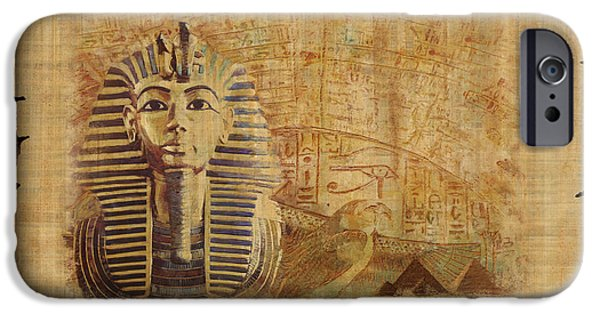 Thebes iPhone Cases - Ancient Egypt Civilization 02 iPhone Case by Catf