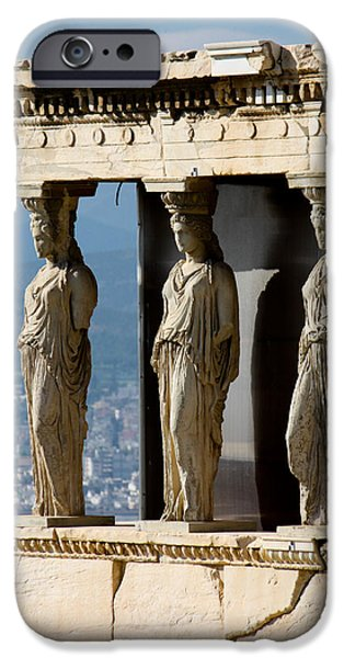 Athens Ruins iPhone Cases - Ancient Greece iPhone Case by Anthony Doudt