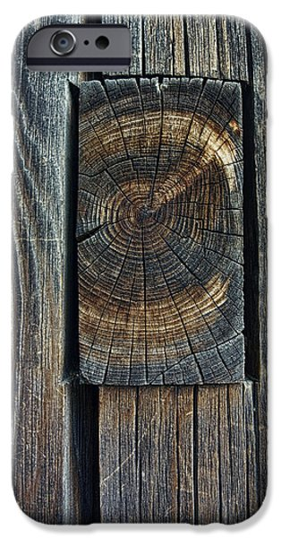 Joints iPhone Cases - ANCIENT MORTISE and TENON JOINT - JAPAN iPhone Case by Daniel Hagerman